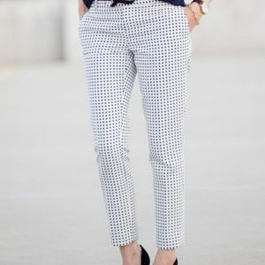 Banana Republic Polka Dot Hampton Pant